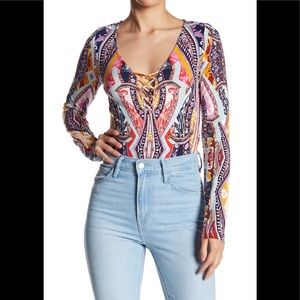 NWT Free People Pick A Place Bodysuit
